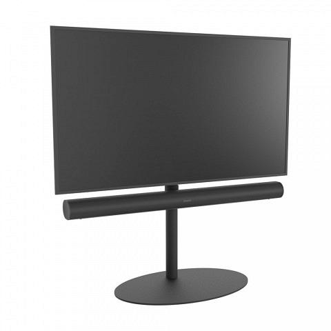TV-Ständer 120/70x45-Schwarz - Arc Halter