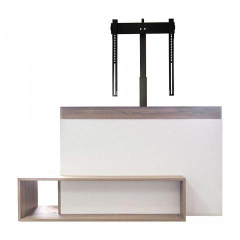 Ascona AV-TV Möbel inkl. Liftsystem, Weiss